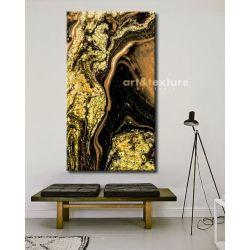 Złote marzenie - obraz na płótnie