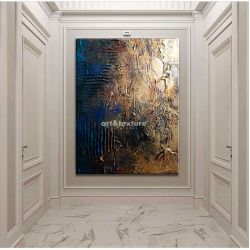 Industrialna abstrakcja - OBRAZ MIESIĄCA - jedna sztuka w tej cenie 80x150cm
