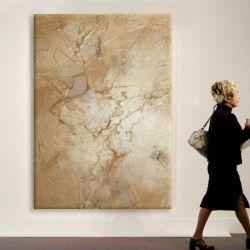 CREME - Wielkoformatowy obraz na płótnie abstrakcyjny art&texture™