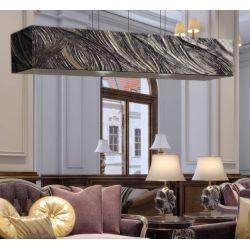 GLAMOUROSSA - Artystyczna ekskluzywna LAMPA SUFITOWA duża do loftu