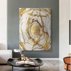 VELVET WAVES - Wielkoformatowy obraz na płótnie abstrakcyjny art&texture™