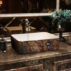 MARRONA - nablatowa umywalka artystyczna ręcznie wykończona