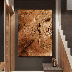 CARAMELLO - Wielkoformatowy obraz na płótnie abstrakcyjny art&texture™