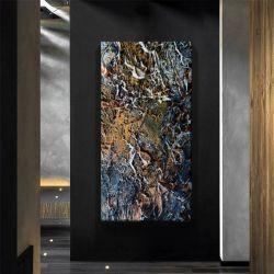ARTISTIC STONE - Wielkoformatowy obraz na płótnie abstrakcyjny art&texture™