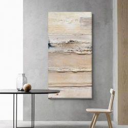 CREAM TEXTURE - Wielkoformatowy obraz na płótnie abstrakcyjny art&texture™