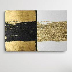 CONTRASTICO - Wielkoformatowy obraz na płótnie abstrakcyjny art&texture®