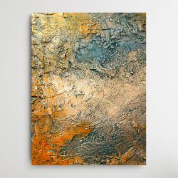 SOLEILO - Wielkoformatowy obraz na płótnie abstrakcyjny art&texture™