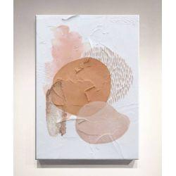 DELIGHTFUL-STAINS - Wielkoformatowy obraz na płótnie abstrakcyjny art&texture™