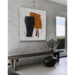 ALTERNATIVO - Wielkoformatowy obraz na płótnie abstrakcyjny art&texture™