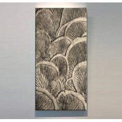 ORGANICO - Wielkoformatowy obraz na płótnie abstrakcyjny art&texture™