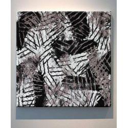 BOHEMIAN - obraz w stylu boho do ciepłych rustykalnych wnętrz z etnicznym motywem afrykańskim