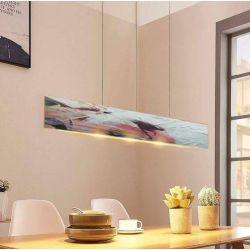 ROSA - nowoczesna lampa loftowa abstrakcyjna z artystyczną strukturą ręcznie wykonana