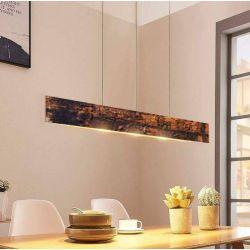 INDUSTRIAL COPPER LAMP - lampa loftowa w industrialnym stylu odcienie brązu pomarańczu miedzi wisząca