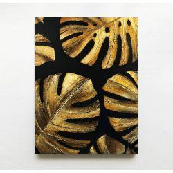 GOLDEN MONSTERA - obraz miesiąca - jedna sztuka w tej cenie