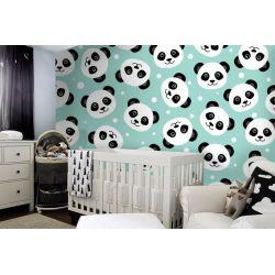 tapeta do pokoju dziecięcego - Pandy