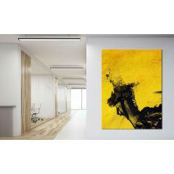 obraz nowoczesny malowany -  duży 100x150cm