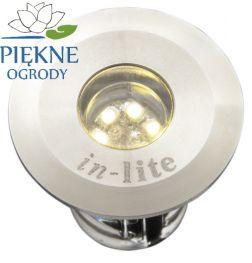 Oświetlenie zewnętrzne LED DB-LED RVS (WW) In-Lite