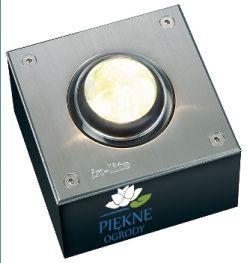 Oświetlenie zewnętrzne LED FISH EYE 100x100 (WW) In-Lite