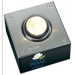 wyjątkowyOświetlenie zewnętrzne LED FISH EYE 100x100 (WW) In-Lite