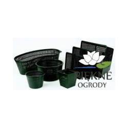 Kosz na rośliny prostokątny tekstylny 18 cm oczka_wodne Oasefoto