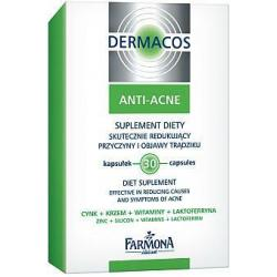 FARMONA DERMACOS ANTI-ACNE Suplement 32 kaps