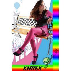 RAJSTOPKI WILL wzorzyste KNITTEX r.122-128 kolory