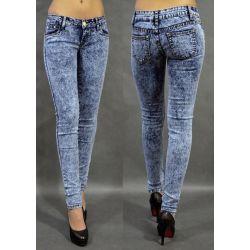 Spodnie Rurki marmurki_02 rozm.L_biodra 90 cm
