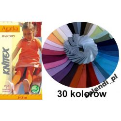 RAJSTOPKI AGATKA Rajstopy KNITTEX r 128-134 kolory