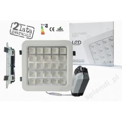 PLAFON OPRAWA Downlight PANEL LED 25W=240W zimny