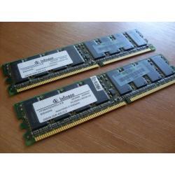 Pamiec DDR 400 2 szt 256 MB