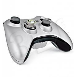 Kontroler Bezprzewodowy do Xbox 360 New Silver + C