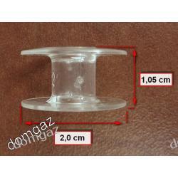 Szpulka plastikowa na nici maszyny do szycia Singer