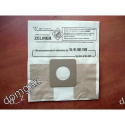 Worek papierowy / filtr / do odkurzacza Zelmer typ 95, 96, 500, 1000 Części zamienne