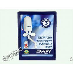 Ogrzewacz wody Dafi 5,5 KW z baterią plastikową.