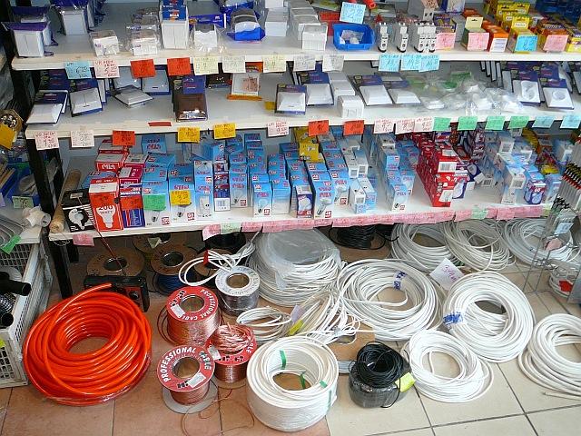 Wewnątrz sklepu Domgaz