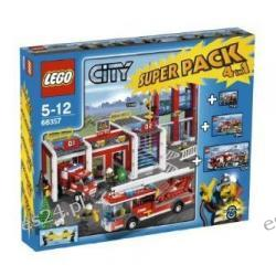 LEGO CITY 66357 MEGA PACK STRAŻ 7208 7942 7239