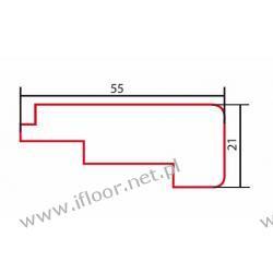 Barlinek - listwa schodowa niska lakierowana dł. 2000 mm brzoza