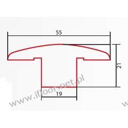 Barlinek - listwa dylatacyjna lakierowana dł. 2000 mm brzoza