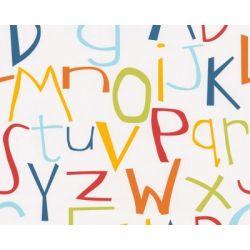 Tapeta ścienna dla dzieci A.S. CREATION litery abecadło KIDS PARTY 8565-17...