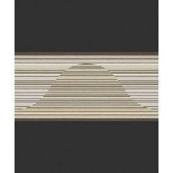 498004 Pasek ścienny dekoracyjny border RASCH nowoczesny w paski PERFECTO 2014...