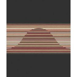 498011 Pasek ścienny dekoracyjny border RASCH nowoczesny w paski PERFECTO 2014 ...
