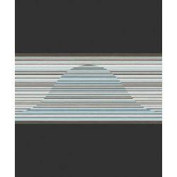 498028 Pasek ścienny dekoracyjny border RASCH nowoczesny w paski PERFECTO 2014 ...