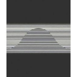 498073 Pasek ścienny dekoracyjny border RASCH nowoczesny w paski PERFECTO 2014...