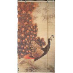 Żaluzje bambusowe, rolety bambusowe z nadrukiem 90x180cm, zasłony...