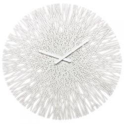 Zegar ścienny biały Silk KZ-2328525...