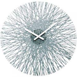 Zegar ścienny antracytowy Silk KZ-2328540...