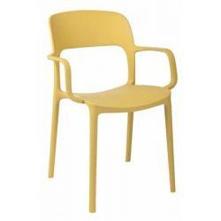Krzesło z podłokietnikami Flexi oliwkowe...