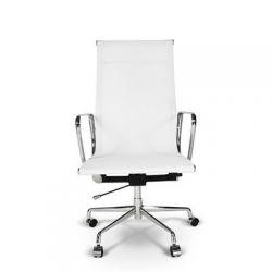 Fotel biurowy CH1191 biała siatka...