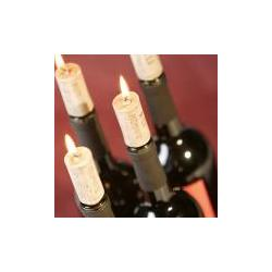 Świeczki korki do wina...