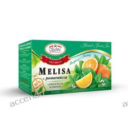 MALWA TEA HERBATA ZIOŁOWA MELISA Z POMARAŃCZĄ 20TB